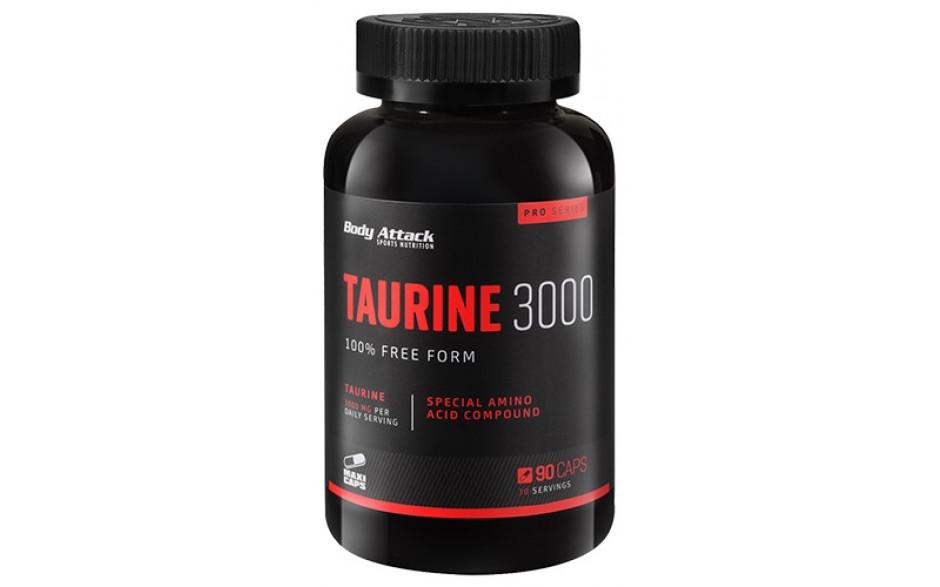 Body Attack Taurine 3000 - 90 Kapseln