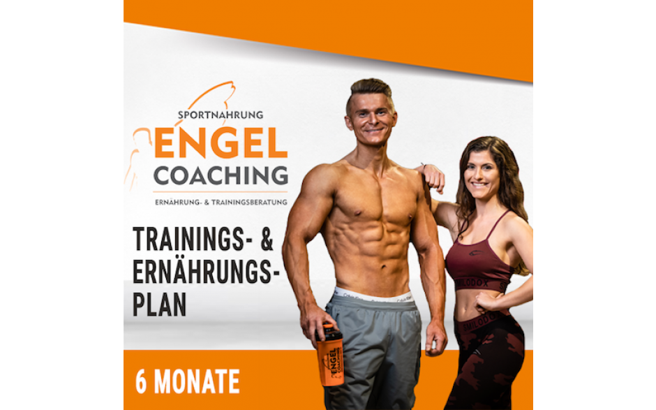 Individueller Ernährungs- und Trainingsplan + 6 Monate Coaching