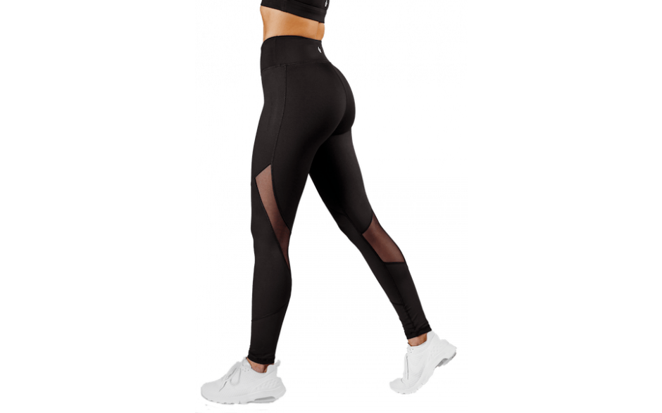Workout Empire Core Tech Tights - Obsidian Schwarz
