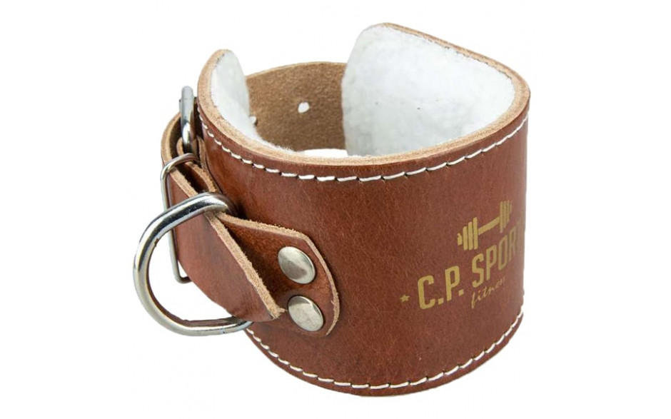 C.P. Sports Premium Fußschlaufe Leder - gepolstert