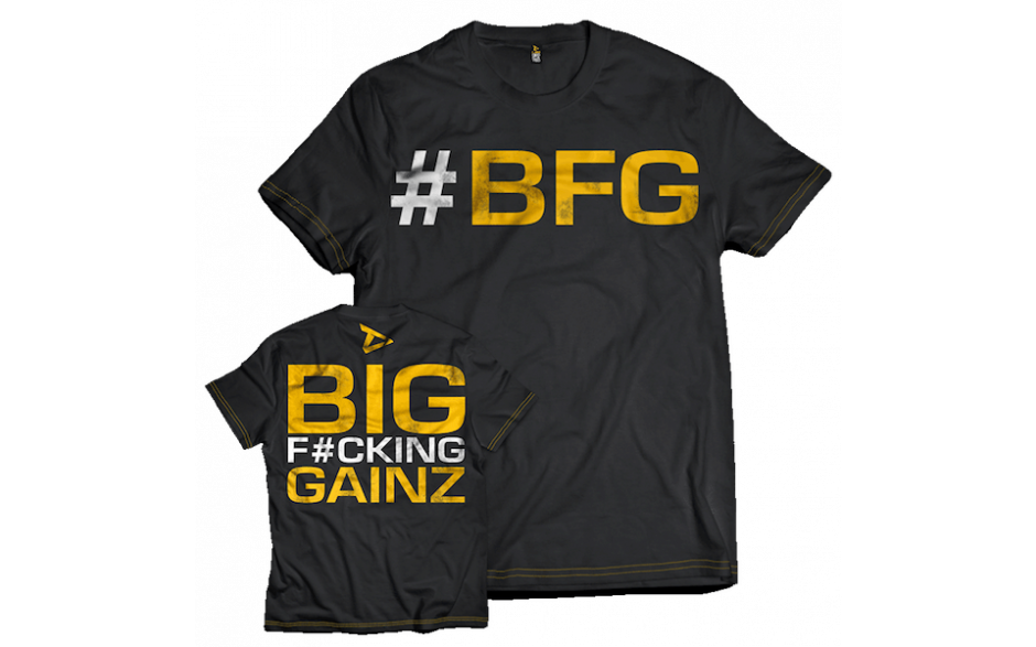 Dedicated Nutrition T-Shirt #BFG