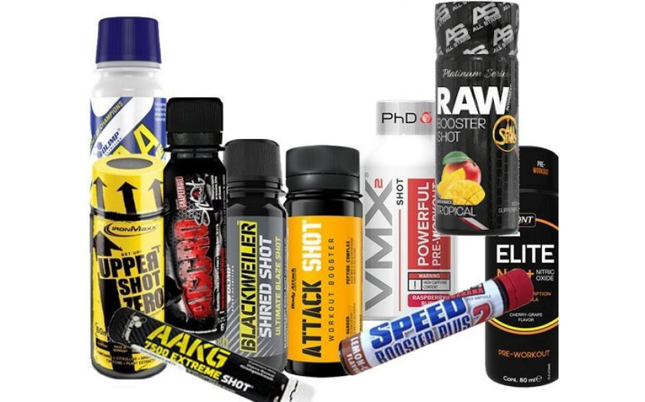 Energy Shot Start Up Package