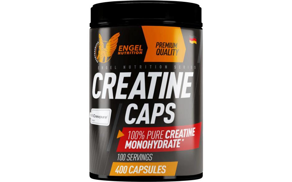 Engel Nutrition 100% Pure Creatine Caps - 400 Kapseln