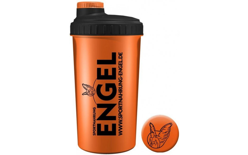 Orange - Sportnahrung Engel Shaker 2.0