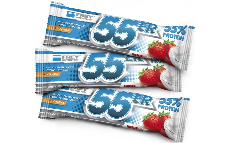 FREY NUTRITION 55er-Proteinriegel - 50g
