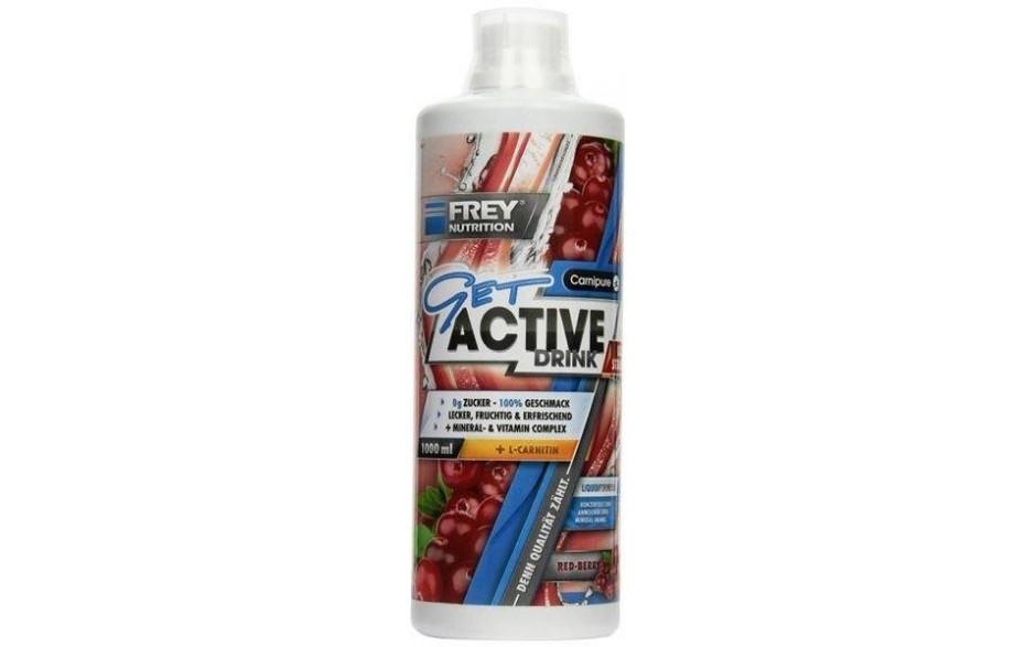 FREY NUTRITION GET ACTIVE DRINK - 1000 ml Flasche