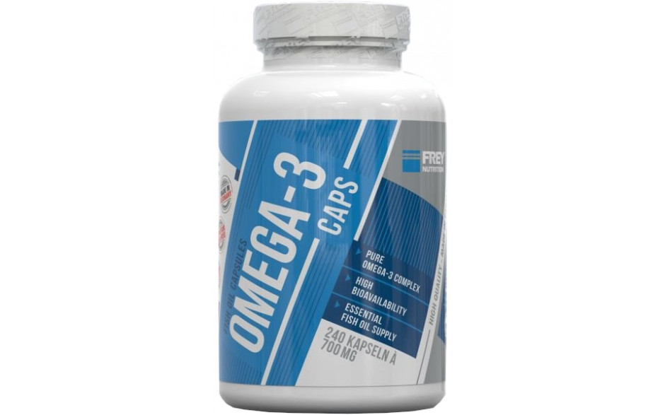 FREY NUTRITION Omega-3 - 240 Kapseln