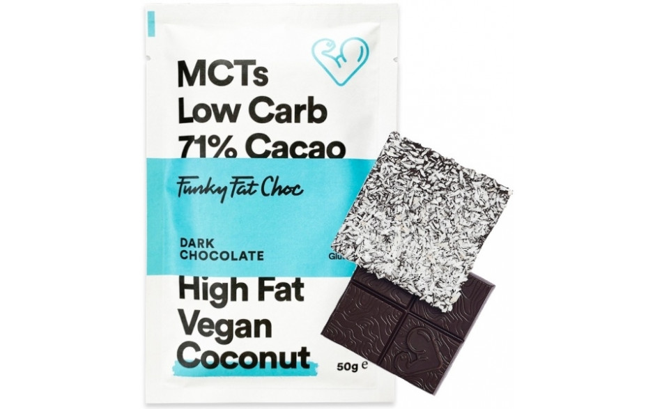 Funky Fat Foods Keto Chocolate - 50g