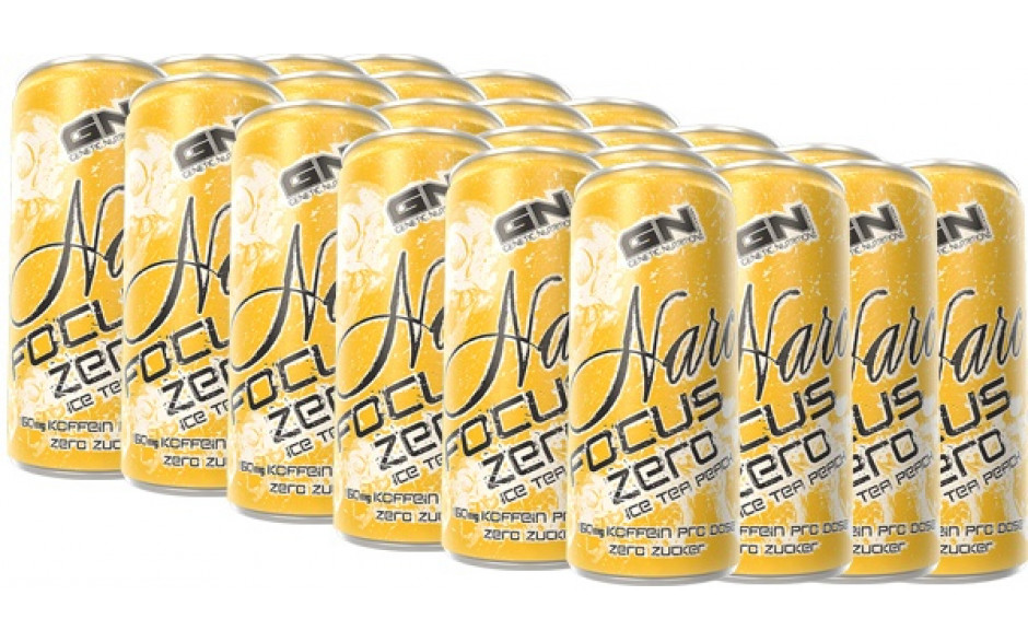 GN Narc Focus Zero - 24x 250 ml Drink