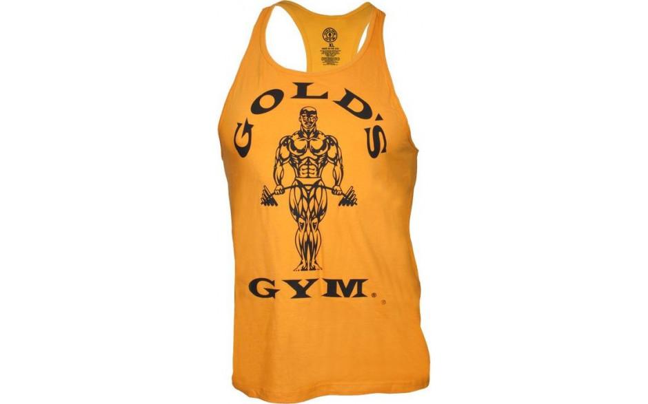 golds gym classic stringer tank top gold. Black Bedroom Furniture Sets. Home Design Ideas