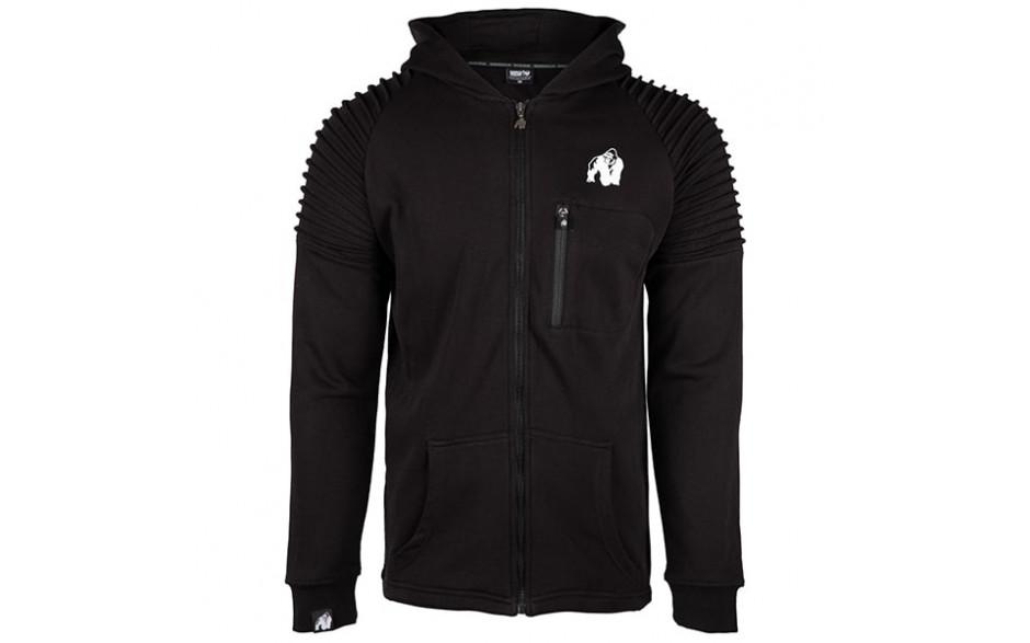 Gorilla Wear Delta Hoodie - schwarz