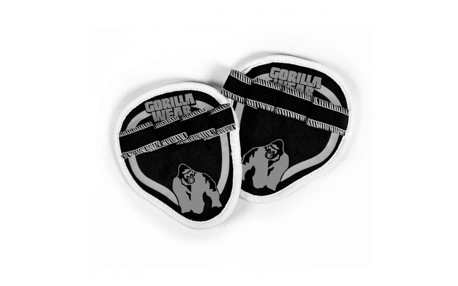 Gorilla Wear Palm Grip Pads - Black/Grey