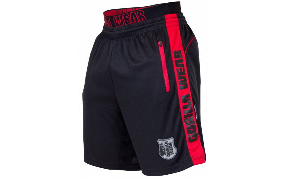 Gorilla Wear Shelby Shorts - Black/Red