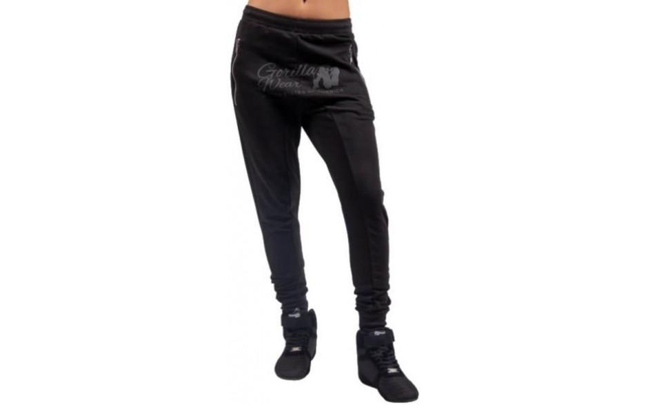 Gorilla Wear Celina Drop Crotch Joggers - Schwarz