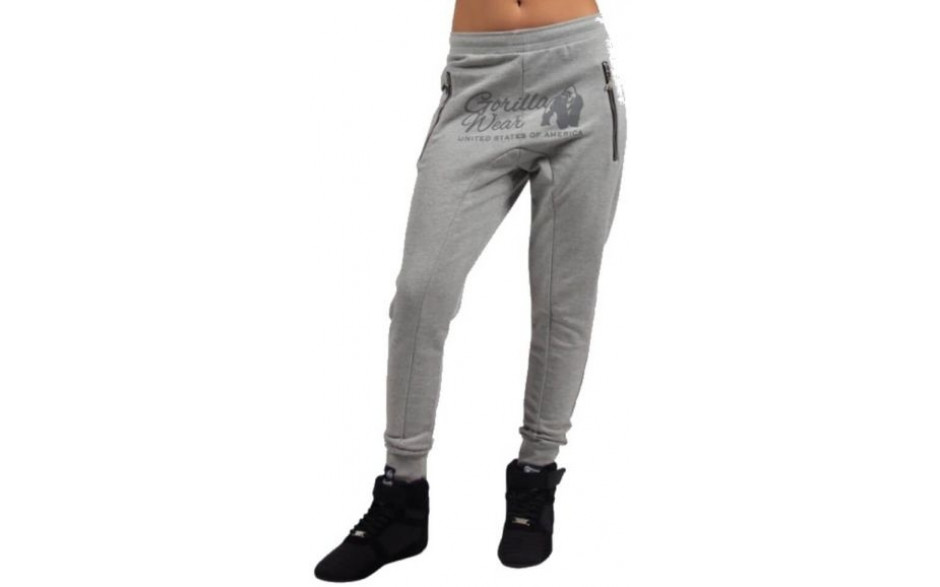 Gorilla Wear Celina Drop Crotch Joggers - Grau
