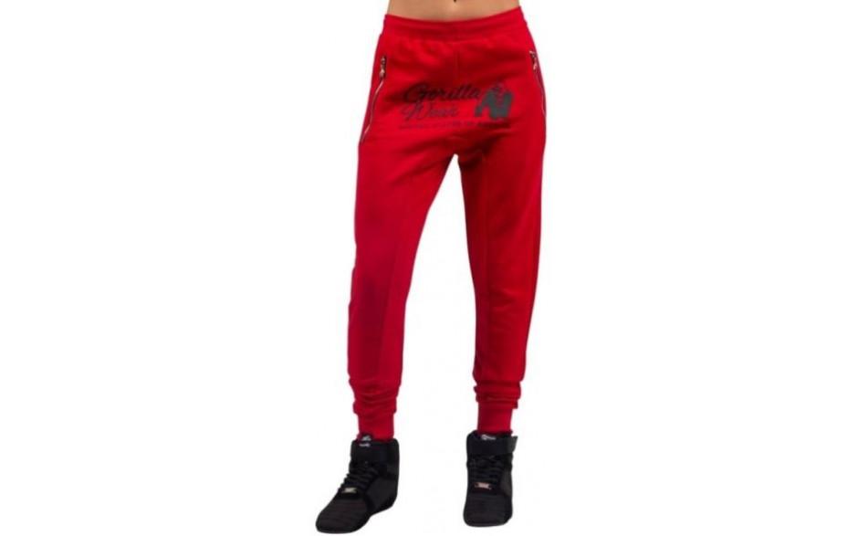 Gorilla Wear Celina Drop Crotch Joggers - Rot