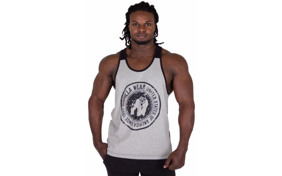 Gorilla Wear Roswell Tank Top – Gray/Black
