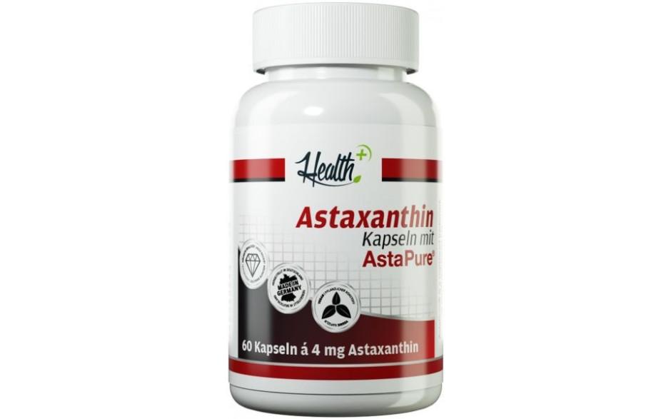 Health+ Astaxanthin - 60 Kapseln - MHD 20.07.21