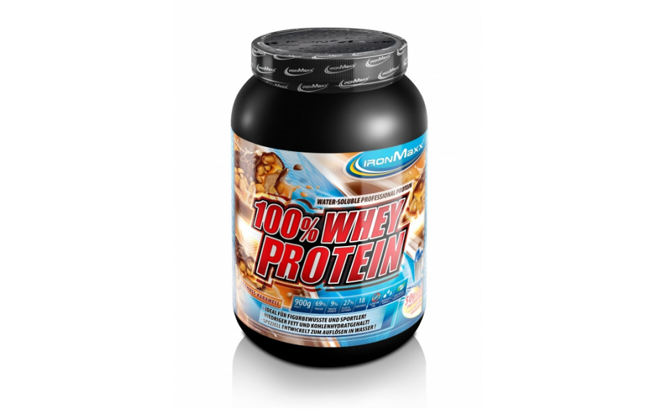 Ironmaxx 100% Whey Protein 900g-Blueberry Cheesecake