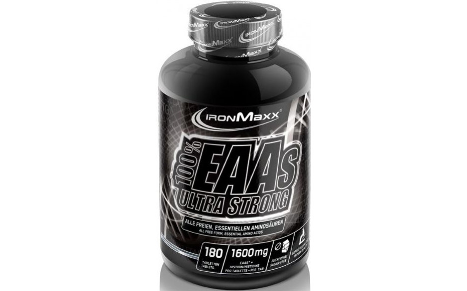 Ironmaxx 100% EAAs Ultra Strong - 180 Tabletten