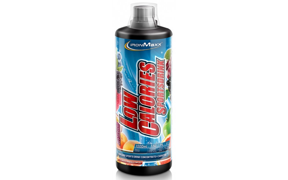 Ironmaxx Low Calories Sportsdrink - 1000ml Flasche