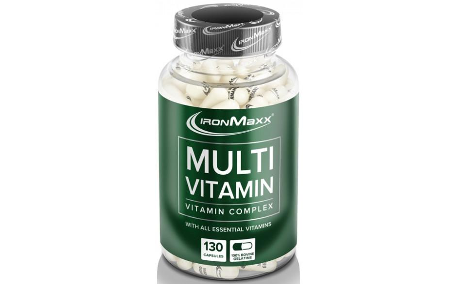 Ironmaxx Multi Vitamin - 130 Kapseln
