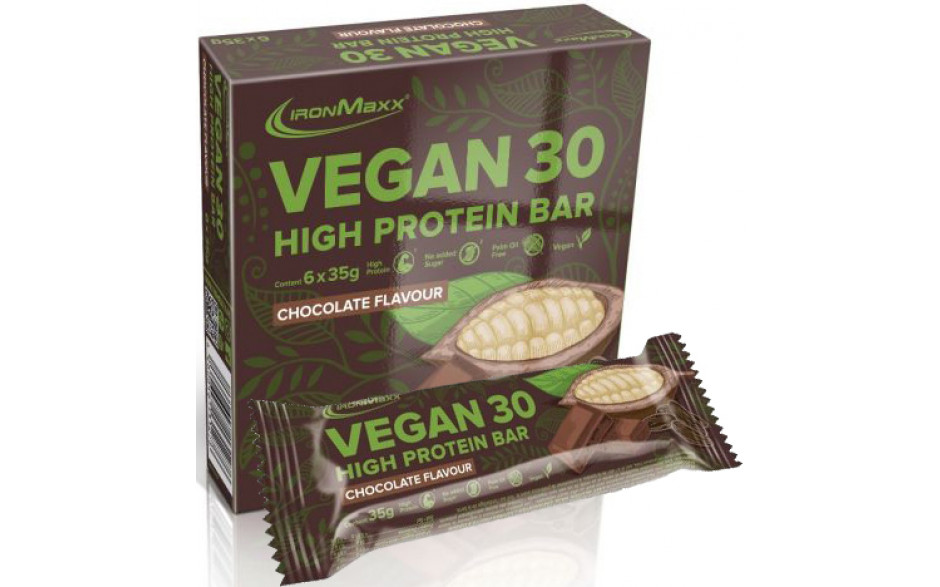 Ironmaxx Vegan 30 High Protein Bar