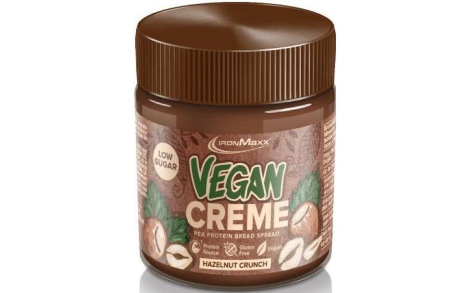 Ironmaxx Vegan Creme Hazelnut Crunch - 250g