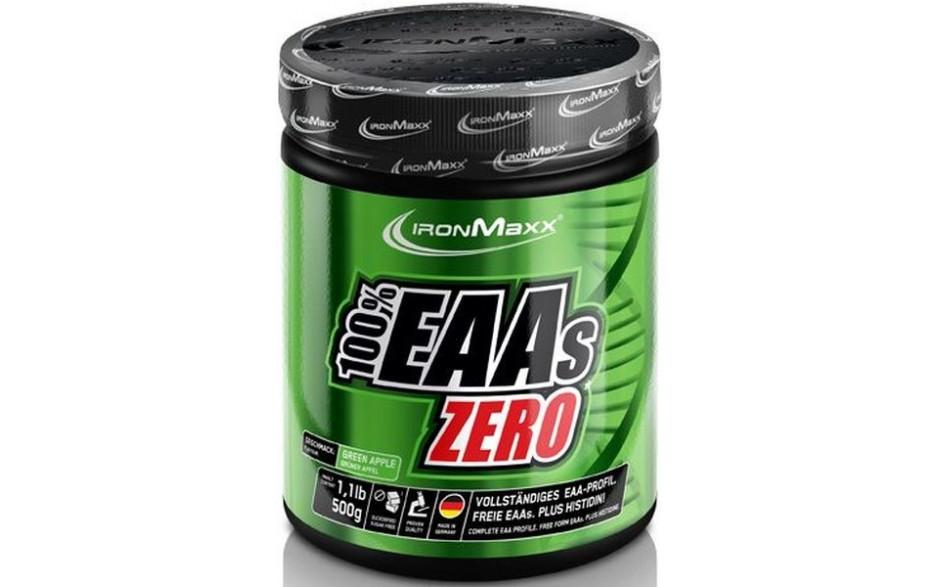Ironmaxx 100% EAAs Zero - 500 g