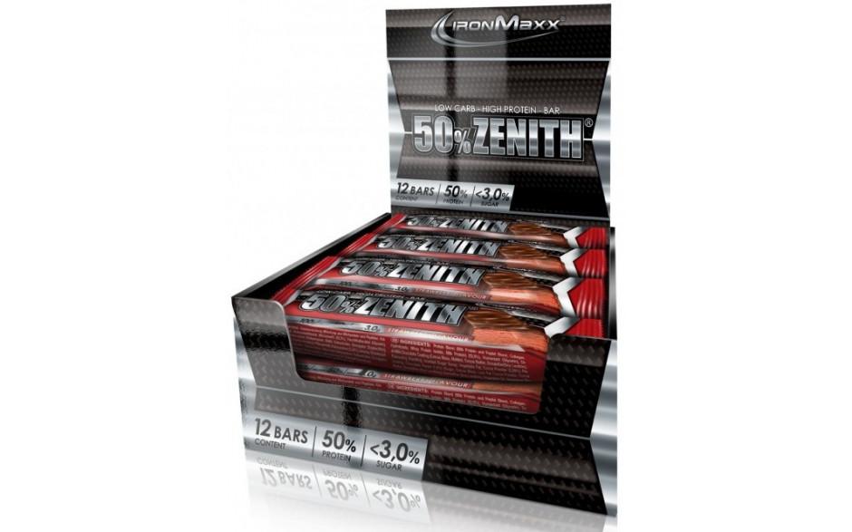 Ironmaxx 50% Zenith® Proteinriegel - 12x100g