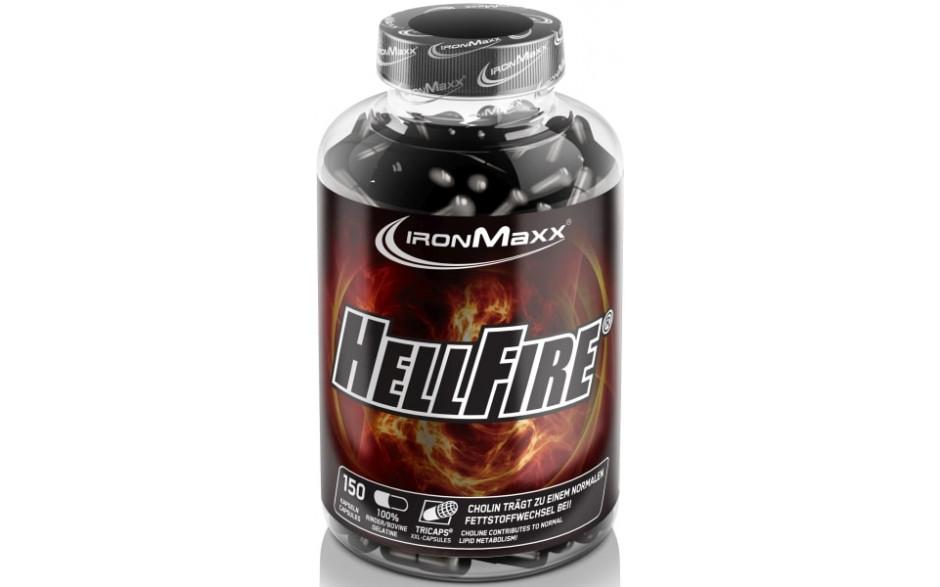 Ironmaxx HellFire Fatburner - 150 Kapseln