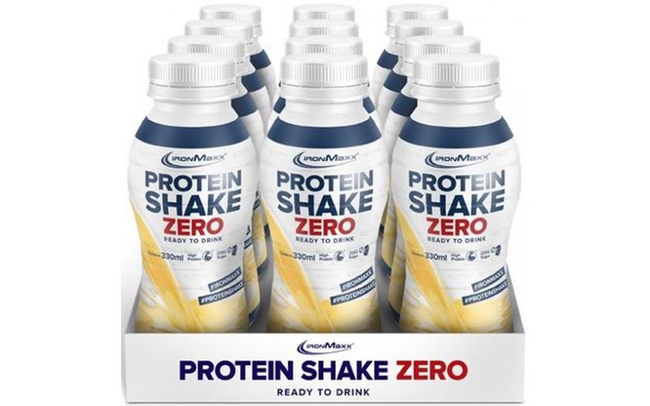 Ironmaxx Protein Shake Zero - 12x 330ml