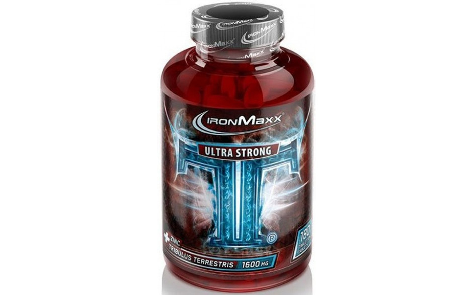 Ironmaxx TT Ultra Strong - 180 Tabl. á 1600mg