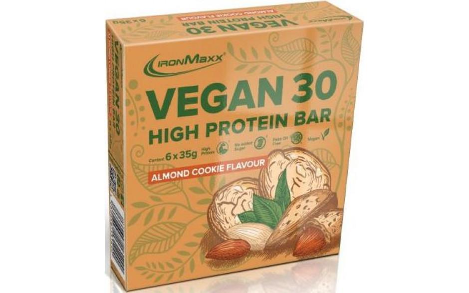 Ironmaxx-vegan-30-high-protein-bar-sparpack-almond-cookie