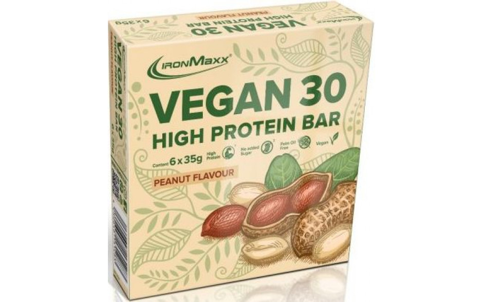 ironmaxx-vegan-30-high-protein-bar-sparpack-peanut