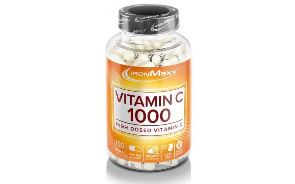 Ironmaxx Vitamin C 1000 - 100 Kapseln