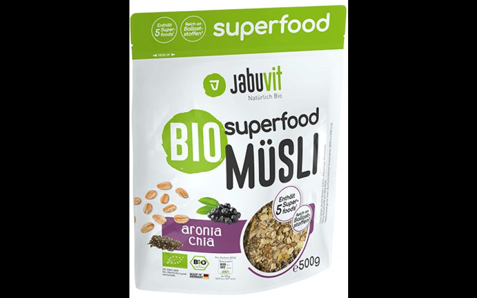 JabuVit Bio Superfood Müsli - 500 g