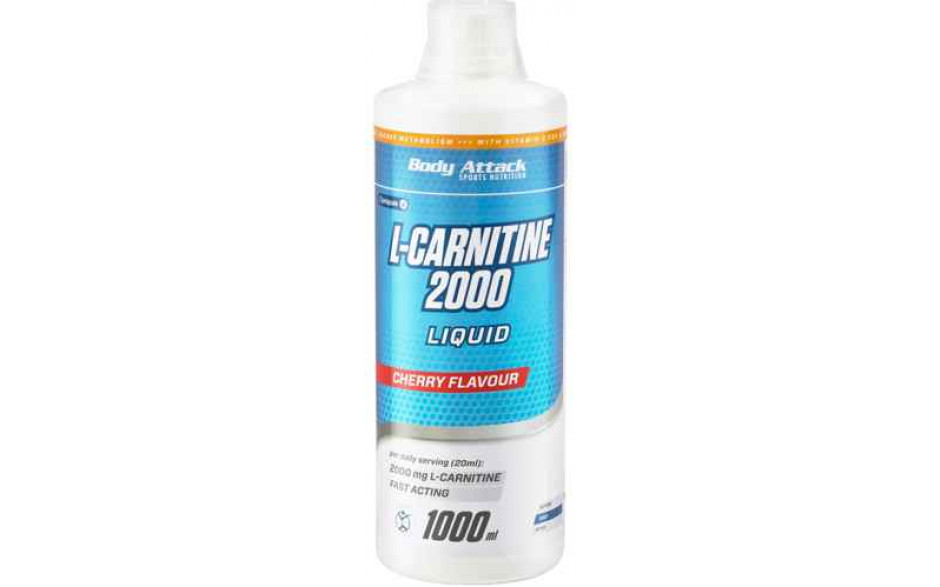 Body Attack L-Carnitine Liquid 2000 - 1000ml