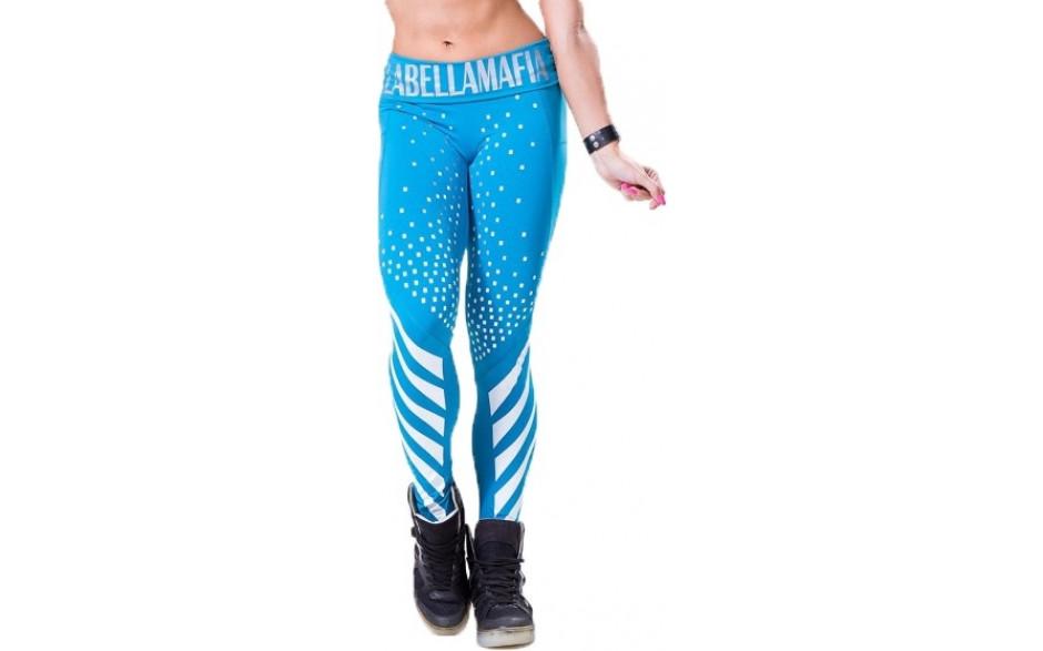 LabellaMafia - Ultimate Splice Blue Leggings
