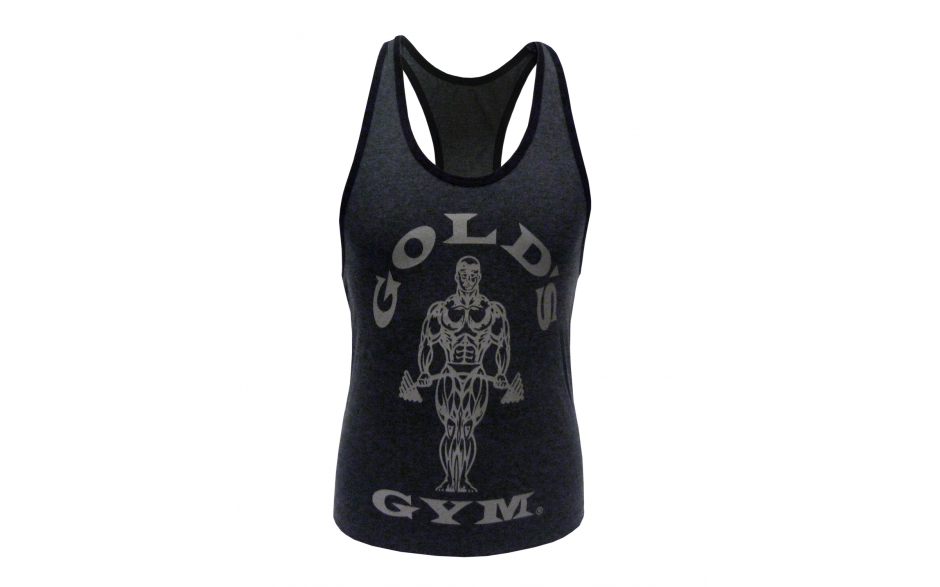 Golds Gym Ladies Loose Fit Muscle Tank – charcoal