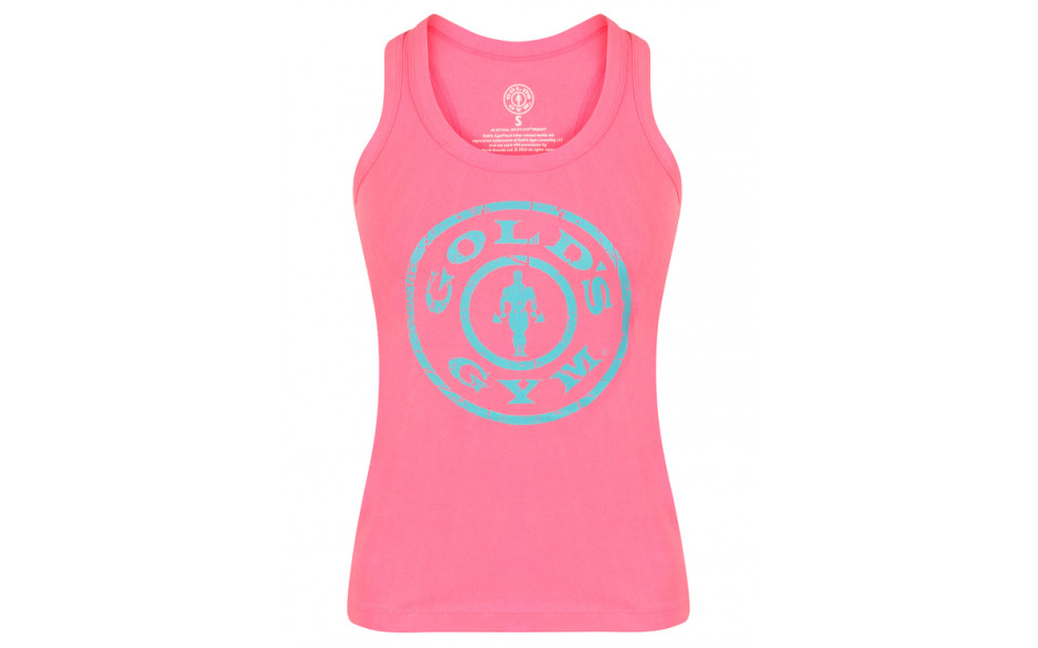 Golds Gym Ladies Muscle Joe Fitted - Pink