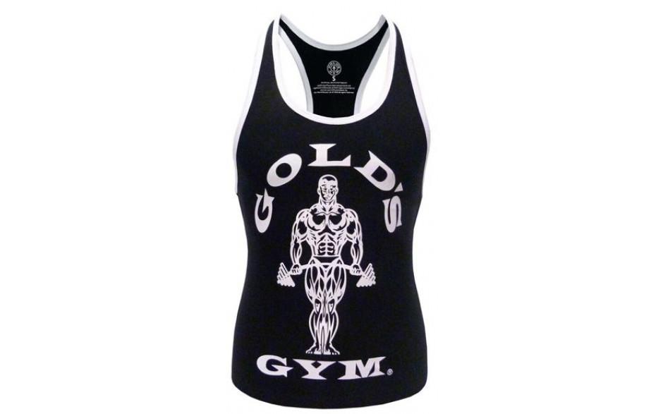 Golds Gym Ladies Loose Fit Stringer - Black