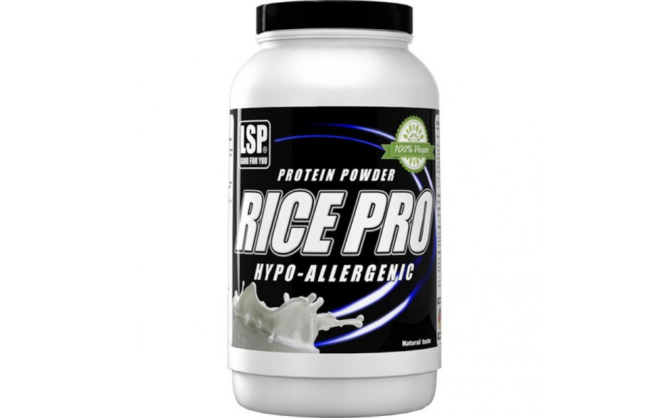 LSP Rice Pro Reisprotein - 1000 g-Natural
