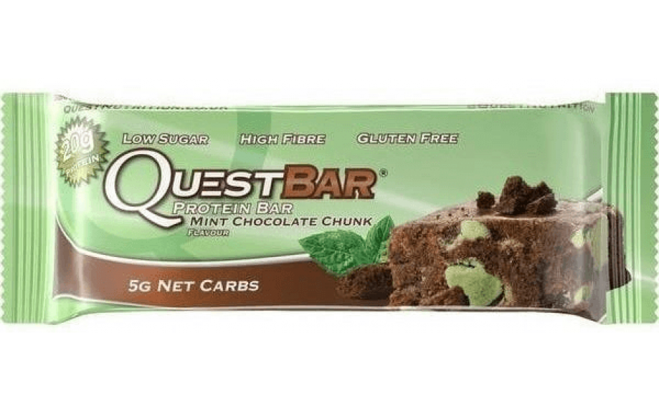Quest Nutrition Quest Bar - 60g Riegel-Mint Chocolate Chunk