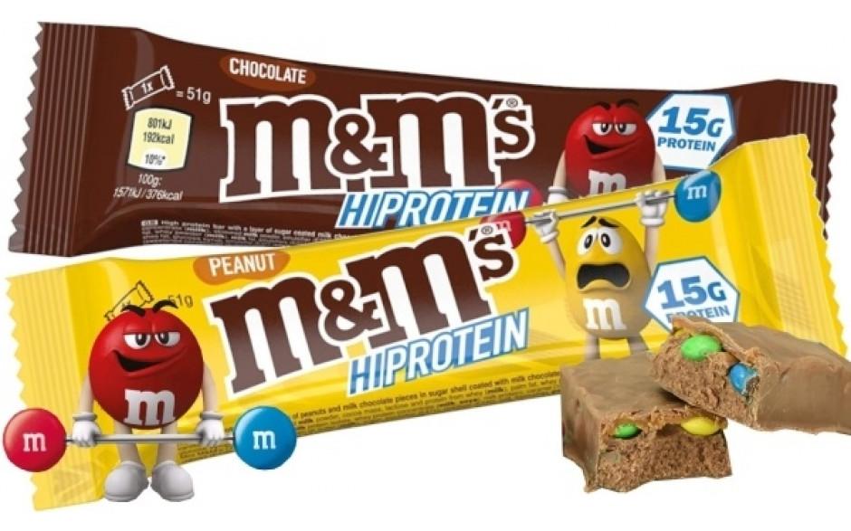 M&M's Hi Protein Bar - 51g