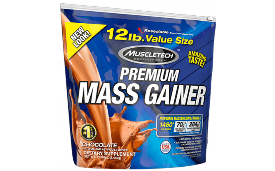 MuscleTech Premium Mass Gainer - 5,44kg