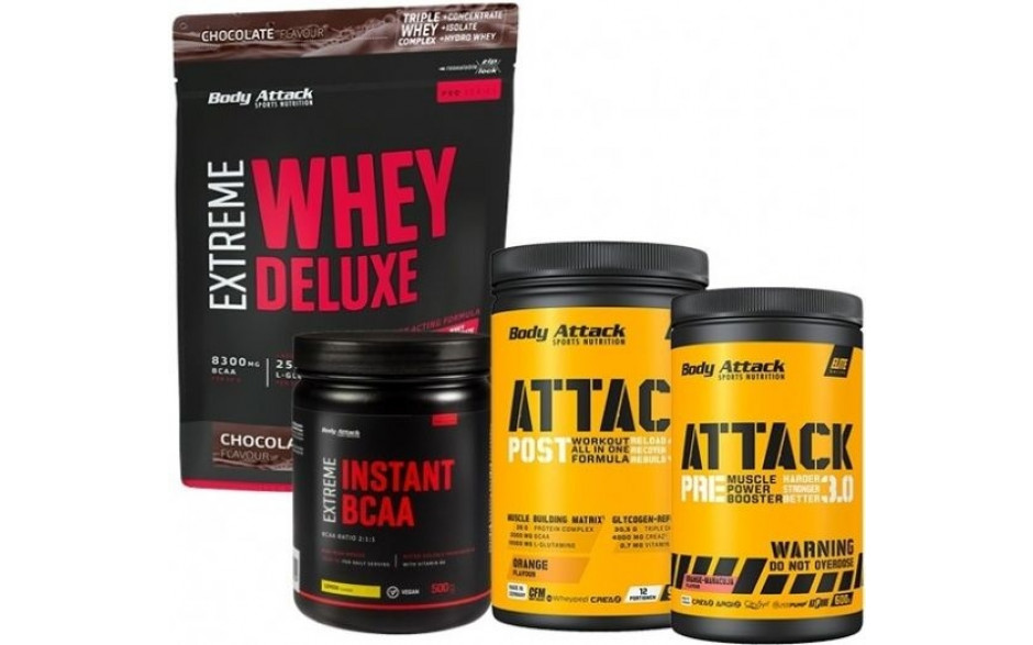 Body Attack Muskelaufbau-Paket - inkl. 15% RABATT