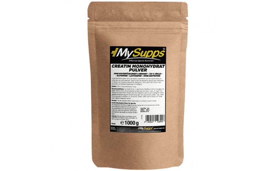 My Supps 100% Creatin Monohydrate Powder - 500g
