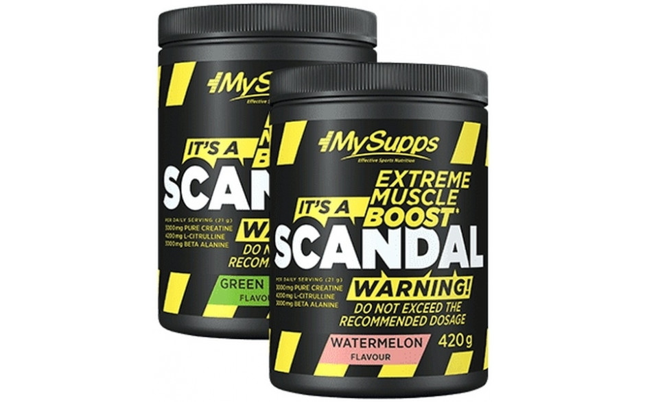 My Supps Scandal Booster - 420 g