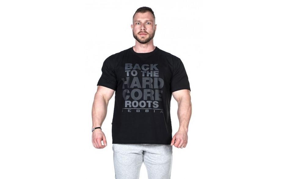 Nebbia Männer Hardcore T-Shirt - schwarz